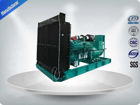 China 50Hz 3 Phase 4 Wire 470KW / 588KVA Water cooled Diesel Generator Set With IP23 Meccalte Brushless Alternator supplier
