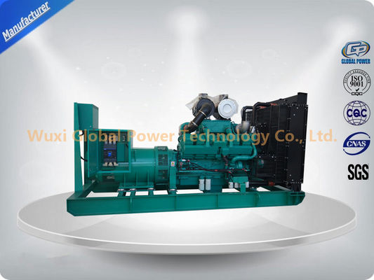"China Global Power 12-Cylinder in ""V"" 600 KW Cummins Generator Set Low Fuel Consumption supplier"