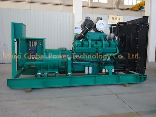 China 500KW KTAA19-G6A STAMFORD HCI544FS Cummins generators Diesel Generator Set supplier