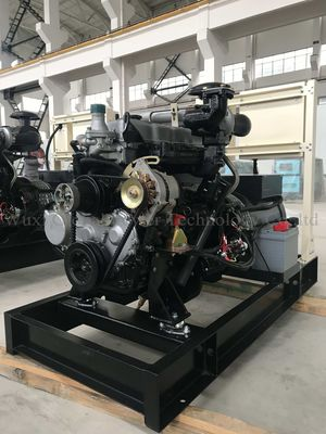 China Lovol Open Diesel Generator Set 3 Phase 4 Wire 32KW / 40KVA Water cooled Diesel Generator supplier