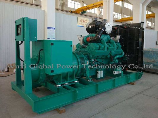 China 470KW / 588KVA 50HZ 400V 3P 4 Wires Open Diesel Generator Set With Cummins Diesel Engine KTAA19-G6 supplier