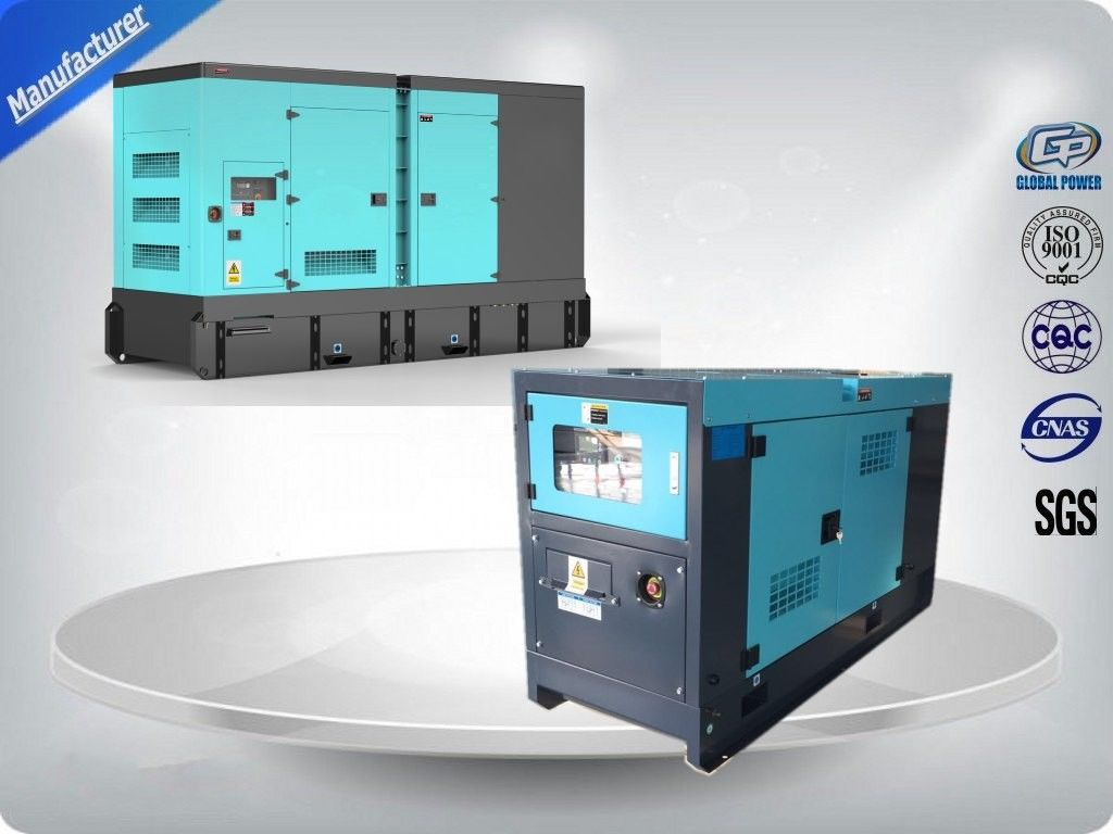 Thick Soundproof Canopy Generator Set Water Cooled / Diesel Engine Weichai Generator Set : genset canopy - memphite.com