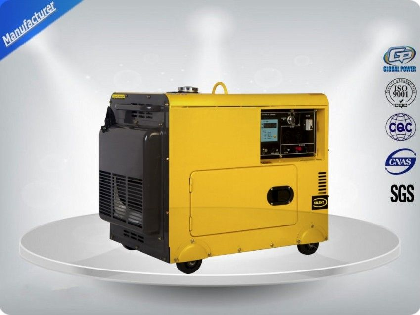 4.5kva Silent Diesel Generator For Home Use 3 Phase Portable ...