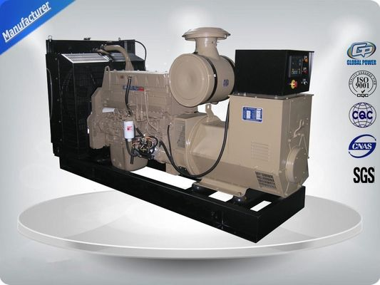 China Electronic Speed Governor 50Hz Open Cummins diesel Generator Set easily operate factory