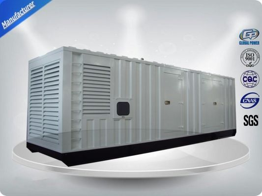 China Container type Cummins diesel genset power 730 kw 50/60hz distributor