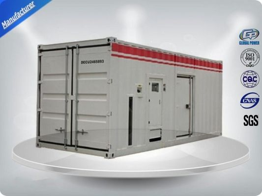 China Container type Cummins diesel genset power with prime power 900 kw distributor