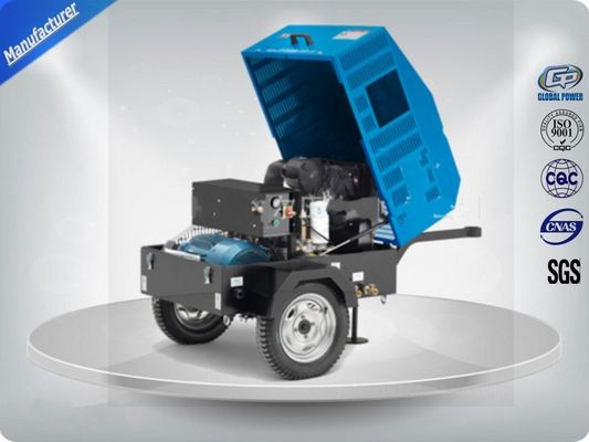 China 22Kw / 30Hp Portable Electric Air Compressor With Ac Output Power /  Direct Drive Screw distributor