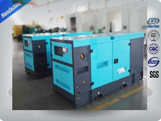 China 30Kva Silent 2mm Thick Canopy Diesel Generator Set Powered By Isuzu / Lovol Diesel Engine factory