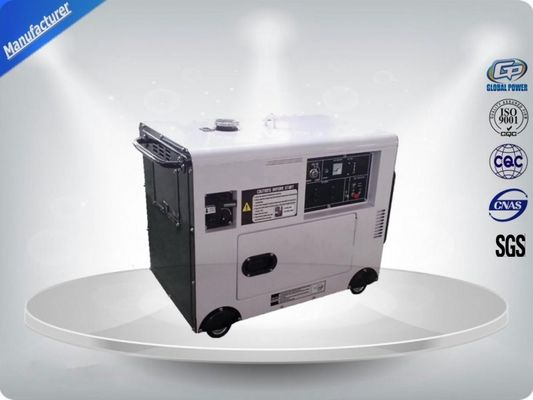 China Portable Gasoline Generator Set Slient Frame 5 kva Economic 950*560*750 distributor