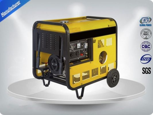 China High Efficiency Single Phase Genset Portable Generator Sets Powered By 7.5kva distributor