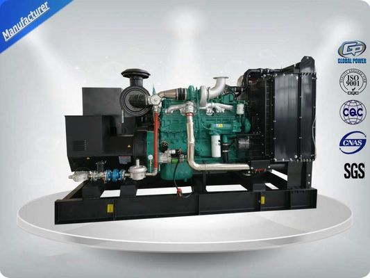 200KW Open Type Natural Gas Generator Set With Original Cummins Engine 6L14TWG1, Stamford Alternator UCDI274K
