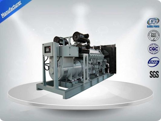 China 1200kw 1500kva 50Hz Mitsubishi Diesel Generator Set With Stamford Alternator IP23 400/230V Three Phase factory
