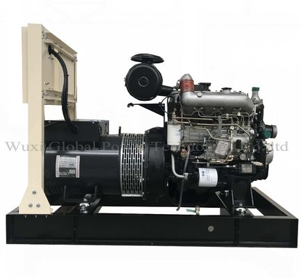 China 24KW / 30KVA Open Diesel Generator Set Powered by Yanmar 4TNV88-GLE sea water cooled distributor