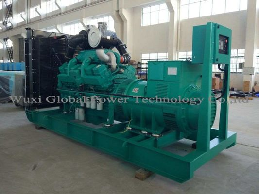China Open Diesel Generator Set Prime 900KW / 1125KVA Diesel Generator Cummins Diesel Engine distributor